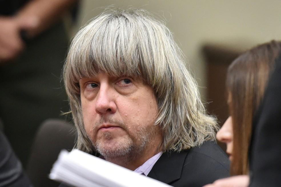 David Turpin participou de audiência em tribunal na Califórnia, na quinta-feira (18)  (Foto: Terry Pierson/ Reuters)