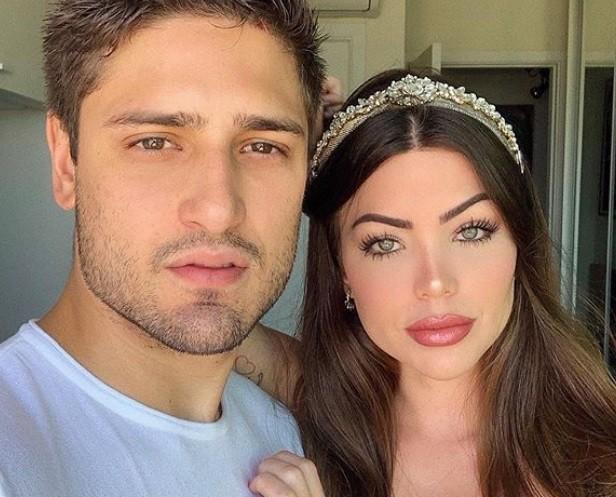 Daniel Rocha e Laise Leal (Foto: Reprodução/Instagram)