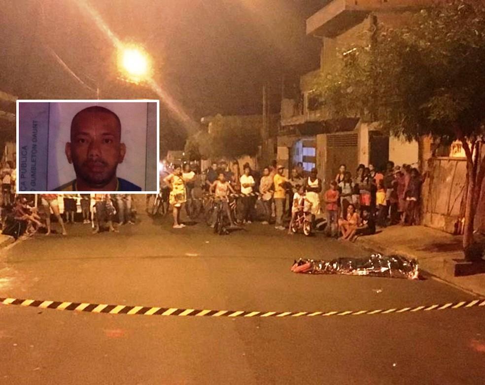 Homem de 35 anos foi assassinado a pauladas em São Carlos — Foto: A Cidade ON/São Carlos