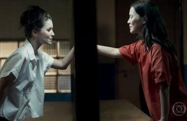 "Nathalia Dill viveu as irmãs Julia e Lorena na novela das 19h da Globo ""Rock Story"" (2016) (Foto: TV Globo)"