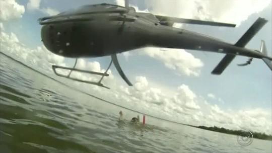 Piloto que fez voo rasante em cima de família no Rio Grande, na divisa entre MG e SP, é denunciado pelo MPF