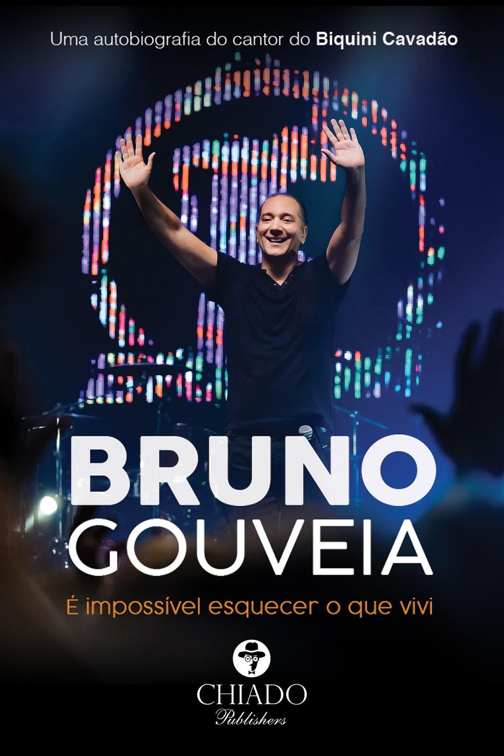 Capa do livro 'É impossível esquecer o que vivi', de Bruno Gouveia — Foto: Lorena Nicácio