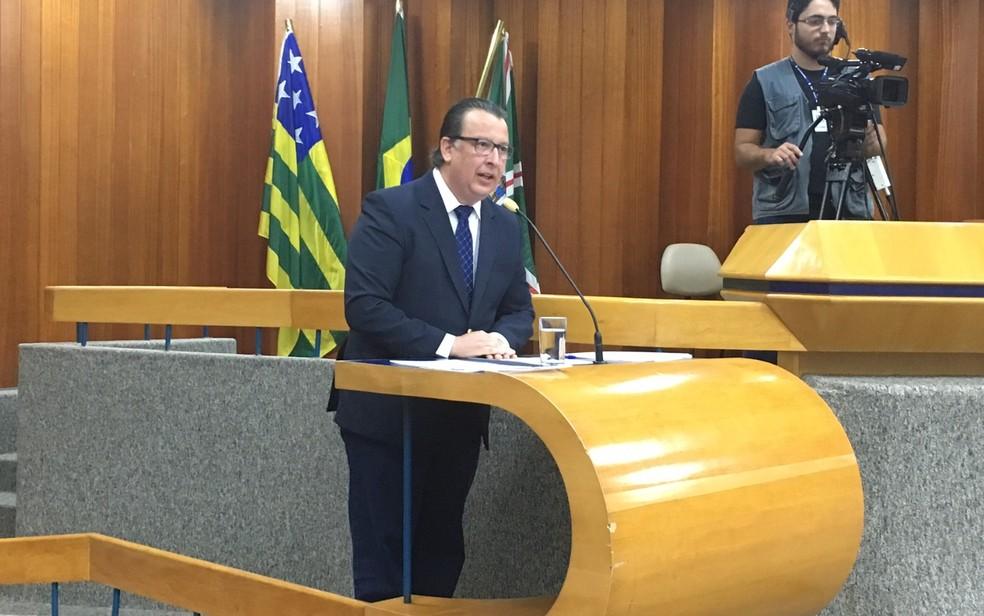 Alexandre Magalhães é sabatinado na Câmara sobre acidente no Parque Mutirama (Foto: Sílvio Túlio/G1)