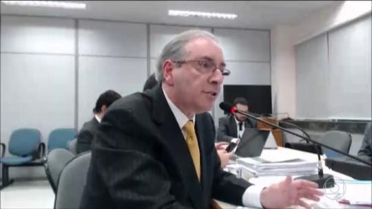 Eduardo Cunha diz que acusação de recebimento de recursos oriundos de corrupção é falsa