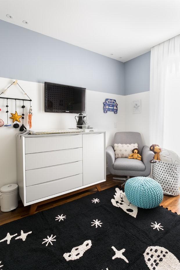 Décor do dia: quarto de criança neutro com toque escandinavo (Foto: Renata D'Almeida)