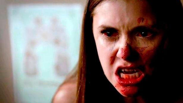 A personagem da atriz Nina Dobrev na série The Vampire Diaries (Foto: Reprodução)