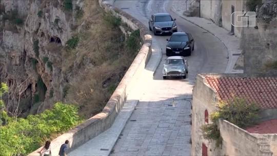 Cenas de perseguição de novo filme de James Bond são gravadas na Itália; VEJA vídeo