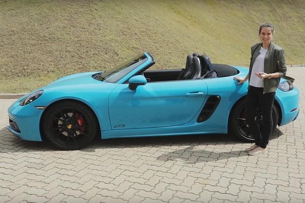 Vídeo: Porsche 718 GTS (Foto: Autoesporte)