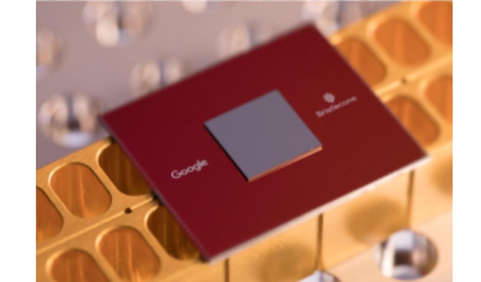 Bristlecone do Google é o antigo recordista em número de qubits — Foto: Divulgação/Google
