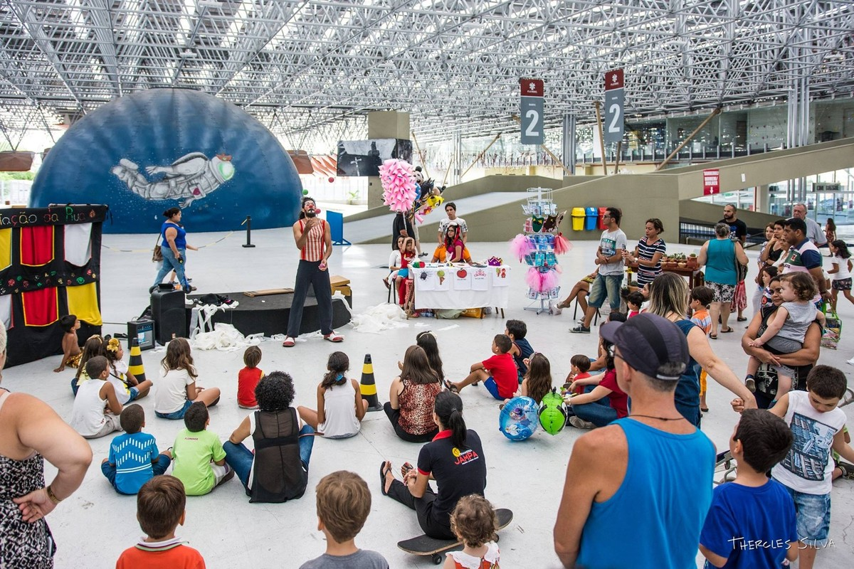 Espaço Cultural, em João Pessoa, oferece turmas de circo e pintura infantil nas férias