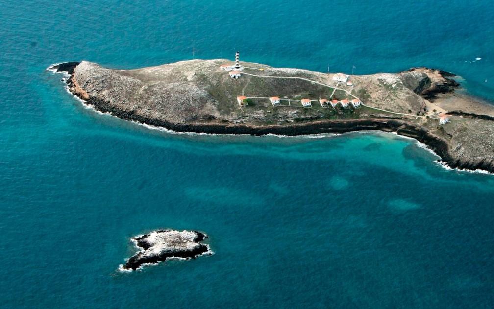 O Arquipélago dos Abrolhos é formado por cinco ilhas — Foto: Manu Dias/GOVBA