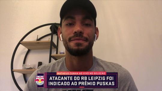 """Brasileiro indicado ao Puskas fala ao vivo no Seleção SporTV e diz: """" Sonho, um dia, disputar o Brasileirão"""""""