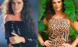Luma de Oliveira viveu Ana Maria. A atriz engravidou durante a novela e, com isso, a personagem precisou ser assassinada na trama. Foi o último trabalho de Luma na TV. Hoje, ela é empresária | TV Globo - Reprodução/Instagram