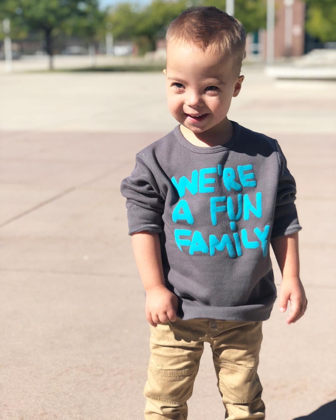 Noah, o mais novo dos sete filhos de Kecia (Foto: Reprodução / Instagram)
