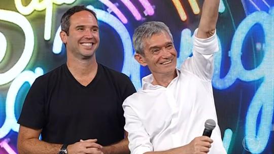 Serginho Groisman e Caio Ribeiro estão na semifinal do 'Super Ding Dong'