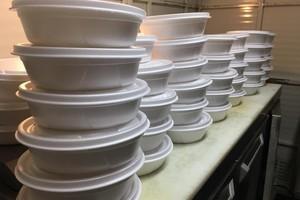Doação de refeições pelo Grupo Trigo