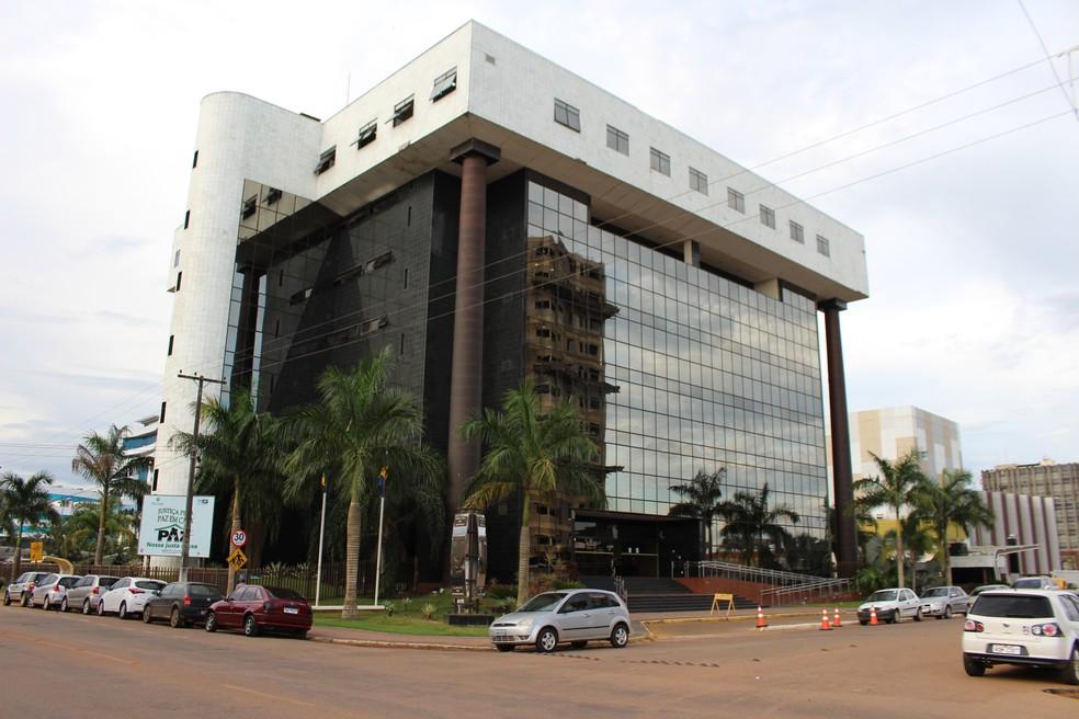 Tribunal de Justiça de Rondônia — Foto: Angelina Ayres/ Rede Amazônica