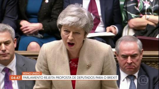 Parlamento rejeita proposta de deputados para o Brexit