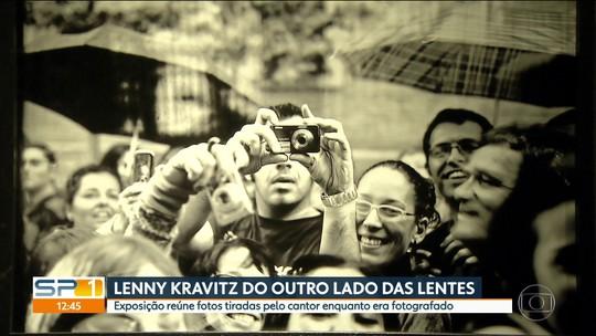 Exposição em São Paulo reúne fotos tiradas pelo cantor Lenny Kravitz