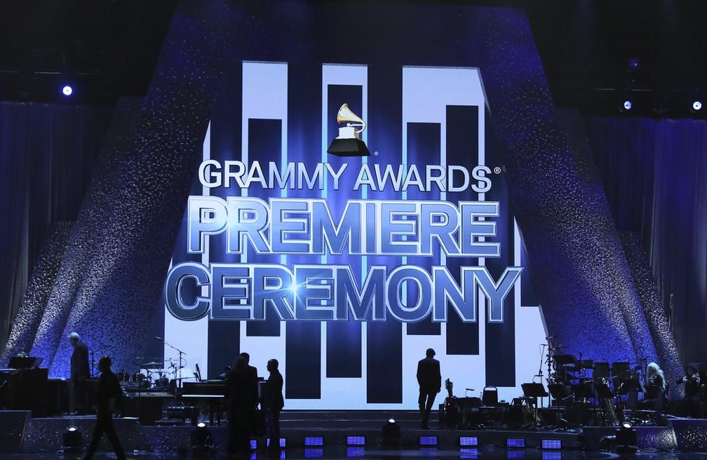 Cerimônia de premiação do Grammy 2019 acontece neste domingo (10) em Los Angeles — Foto: Matt Sayles/Invision/AP