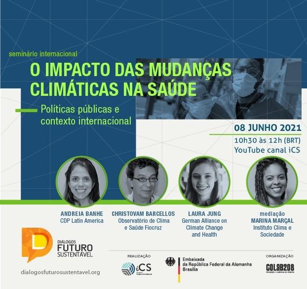 Pesquisa revela dados inéditos relacionando mudanças climáticas à saúde humana