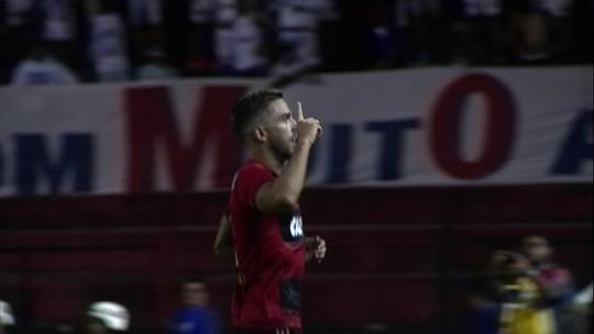 """Postura, cobrança e """"pegada"""": jogadores avaliam desempenho do Bahia fora de casa"""