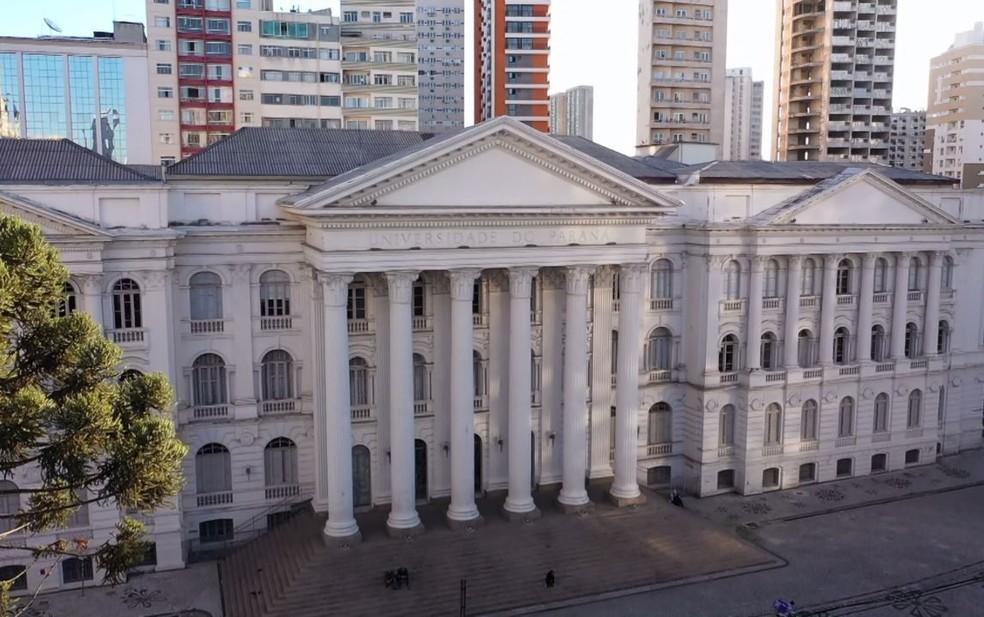 Universidade Federal do Paraná (UFPR) — Foto: Reprodução/RPC