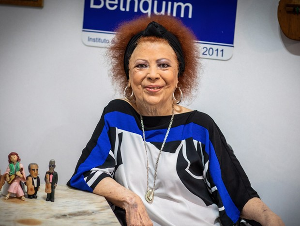 Beth Carvalho em agosto de 2018 (Foto: Barbara Lope/Agência O Globo)