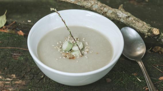 Sopa de alho poró (Foto: Divulgação)