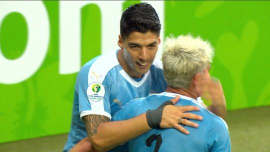 Estatísticas da Copa América: Suárez e Cavani são os que mais finalizam; Arthur sofre mais faltas