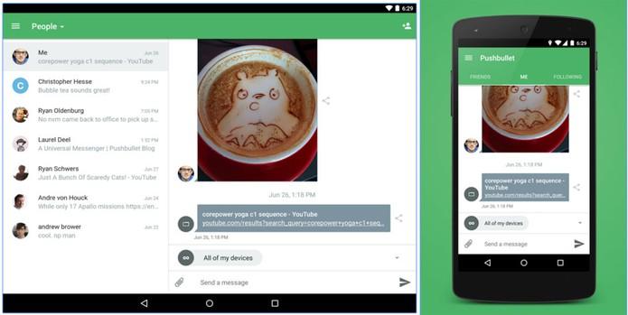 Pushbullet permite integrar PC e Android para ler e responder mensagens (Foto: Divulgação/Pushbullet)