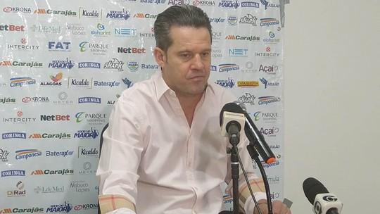 """Argel Fucks não descarta retorno de Jordi ao gol do CSA na reta final do Brasileiro: """"Depende dele"""""""