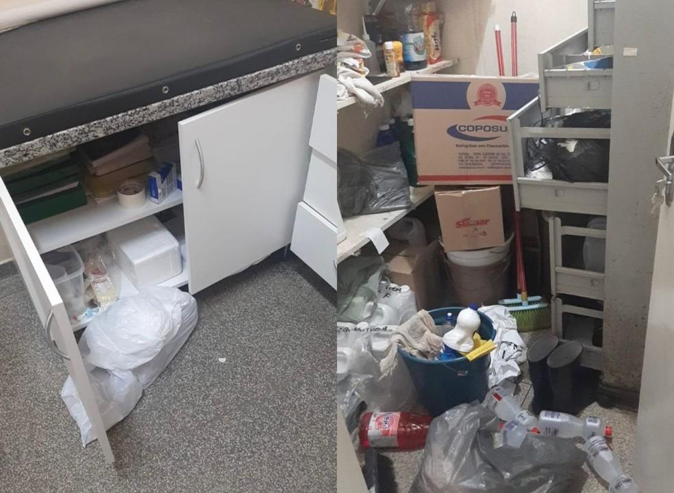 Boletim de ocorrência foi registrado por furto e a Polícia Civil de Taquarituba investiga o caso — Foto: Prefeitura de Taquarituba/ Divulgação