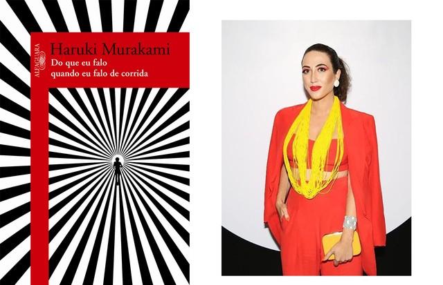 """Bruna Bismara, Editora de Arte Do Que Falo Quando Falo De Corrida,  Haruki Murakami. """"Inspirador! E muito gostoso saber que um dos seus autores favoritos tem a mesma paixão que você."""" (Foto: Divulgação/Arquivo pessoal)"""