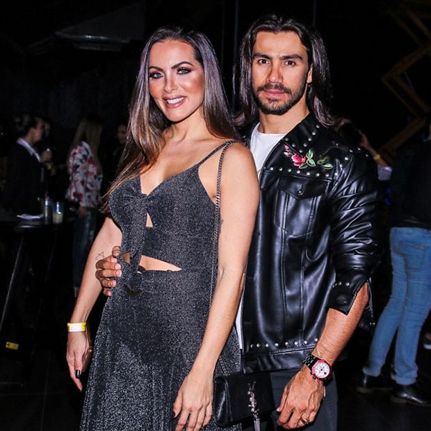 Mariano e Karla Prata (Foto: Thiago Duran/AgNews )