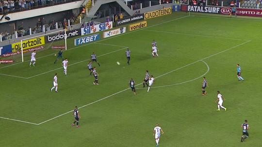 Sem Cueva, Santos inicia preparação para enfrentar o Atlético-MG; veja time provável