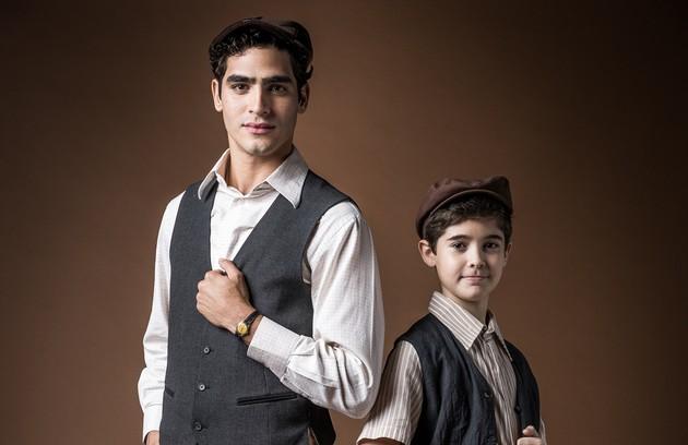Interpretado por Arthur Gama na primeira fase, Lúcio será vivido por Jhonas Burjack após a passagem de tempo. Na trama, ele se envolverá com a política ao lado de Alfredo (Foto: TV Globo)