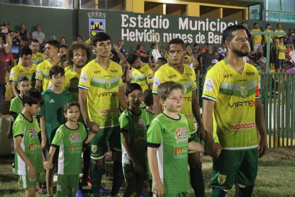 Picos terá apenas uma alteração no time que venceu o Timon no jogo de ida da final — Foto: Romário Mendes/RiachãoNet