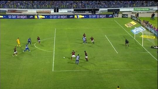CSA x Atlético-GO - Campeonato Brasileiro Série B 2018 - globoesporte.com