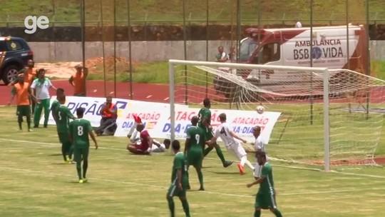 Sobradinho e Gama empatam em 2 a 2 e Leão da Serra se mantém na liderança