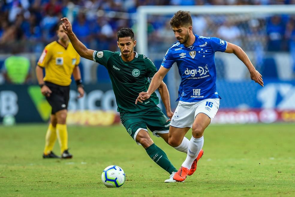 Lucas Silva em ação pelo Cruzeiro — Foto: Douglas Magno/BP Filmes