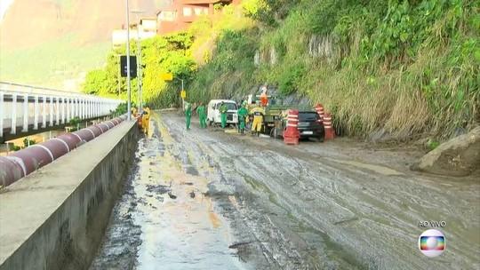Semana no Rio de Janeiro é marcada por fortes chuvas e incêndio no CT do Flamengo