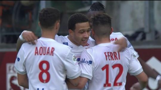 Os gols de Metz 0 x 5 Lyon pela 32ª rodada do Campeonato Francês