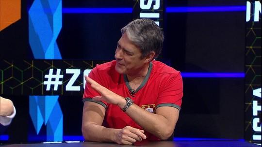 Zona Mista: Bonner fala sobre separação, se diverte com trote em Tatá e narra gol da Seleção