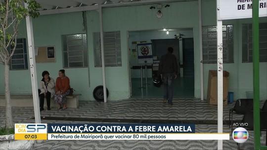 Com suspeita de febre amarela em macacos, Mairiporã inicia campanha de vacinação contra doença