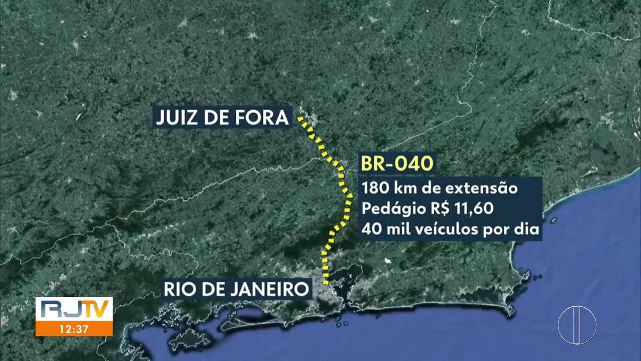 Dnit vai assumir a BR-040, que passa pela Região Serrana