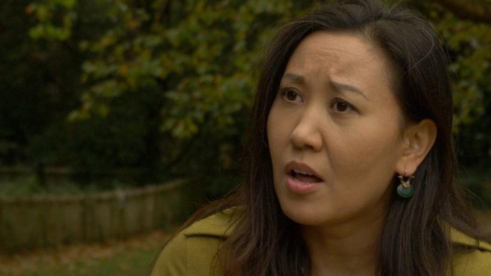 Reyila Abulaiti nasceu em Xinjiang e mora no Reino Unido desde 2002 — Foto: BBC