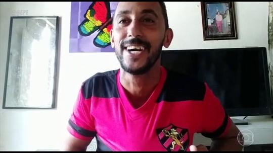 """Torcedor do Sport dá uma de profeta, viraliza e ganha """"benção"""" de Régis Rosing"""