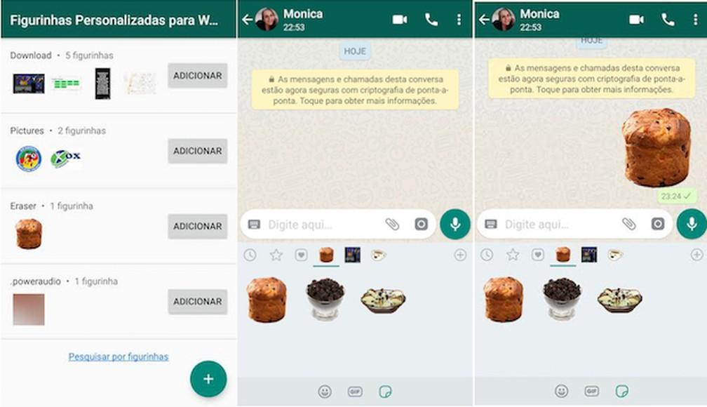 Como fazer figurinha no Whatsapp foi uma das principais buscas no Google em 2018 — Foto: Reprodução/Whatsapp