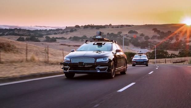Carro autônomo com tecnologia da Aurora Innovation (Foto: Divulgação)